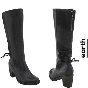 Chic & Comfortable Earth Black Waterproof Boots